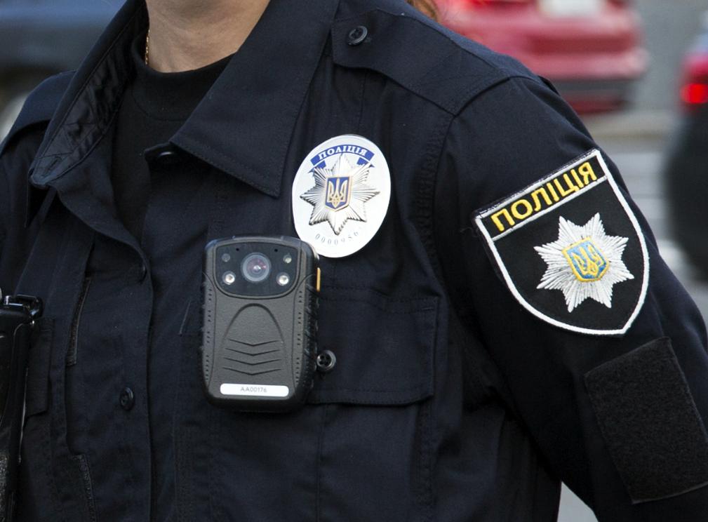 Сотрудник полиции в Украине