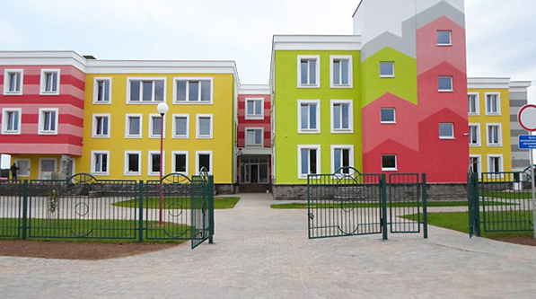 Детский сад в г. Столбцы, Белоруссия