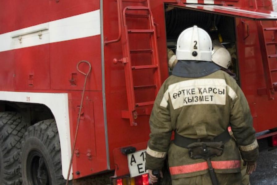 Пожарный - Казахстан